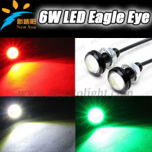 Top Quality Super Slim Eagle Eye Projector Headlight 100% Waterproof Super bright 6W LED Daytime Running Light LED Eagle Eyes