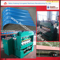 Steel roof and wall arch sheet roll forming machine