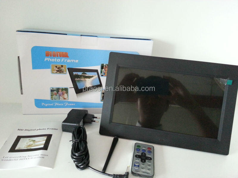 "Multifunction 12"" motion sensor & Li-battery wifi digital picture frame, sex video mp3 free download"