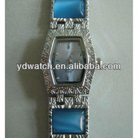Luxury wrist women watch ladies stone for promotional