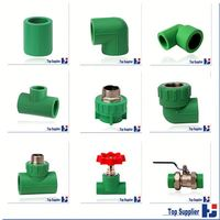 PPR pipe and fittings Factory best price types of plastic water pipe