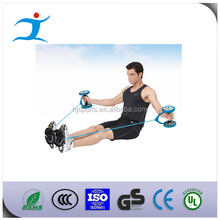 Exercise Equipment Core Double Wheels Ab Roller Pull Rope Abdominal Waist Slimming Trainer