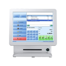 restaurant pos system all in one pos hardware cheap pos machine with secondary display