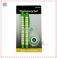 Office stationery items names ball pen set , office stationary , school stationery