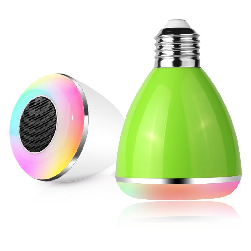 bulb can change the color Bluetooth Speaker with Custom Logo Printing