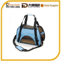 Travelling pet carrier dog bag