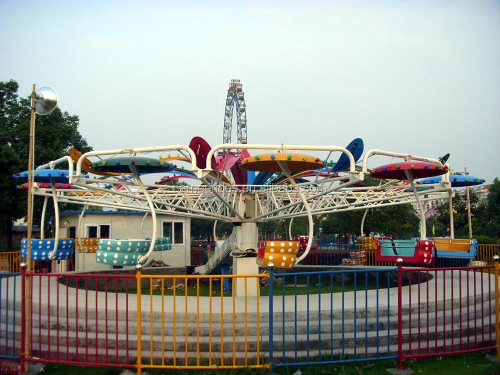 CARNEE Outdoor park carnival equipment paratrooper rides for sale