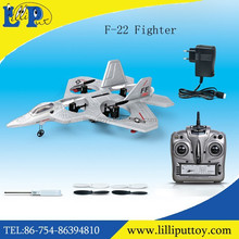 Hot Sale Fighter 2.4G Remote Control F-22 Airplane