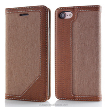 High quality Flip Leather case for lg x power, for lg x power wallet leather case