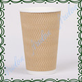 12oz /400ml disposable double wall paper cup/eco-friendly paper cup