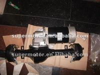 axle+variable motor for electric car