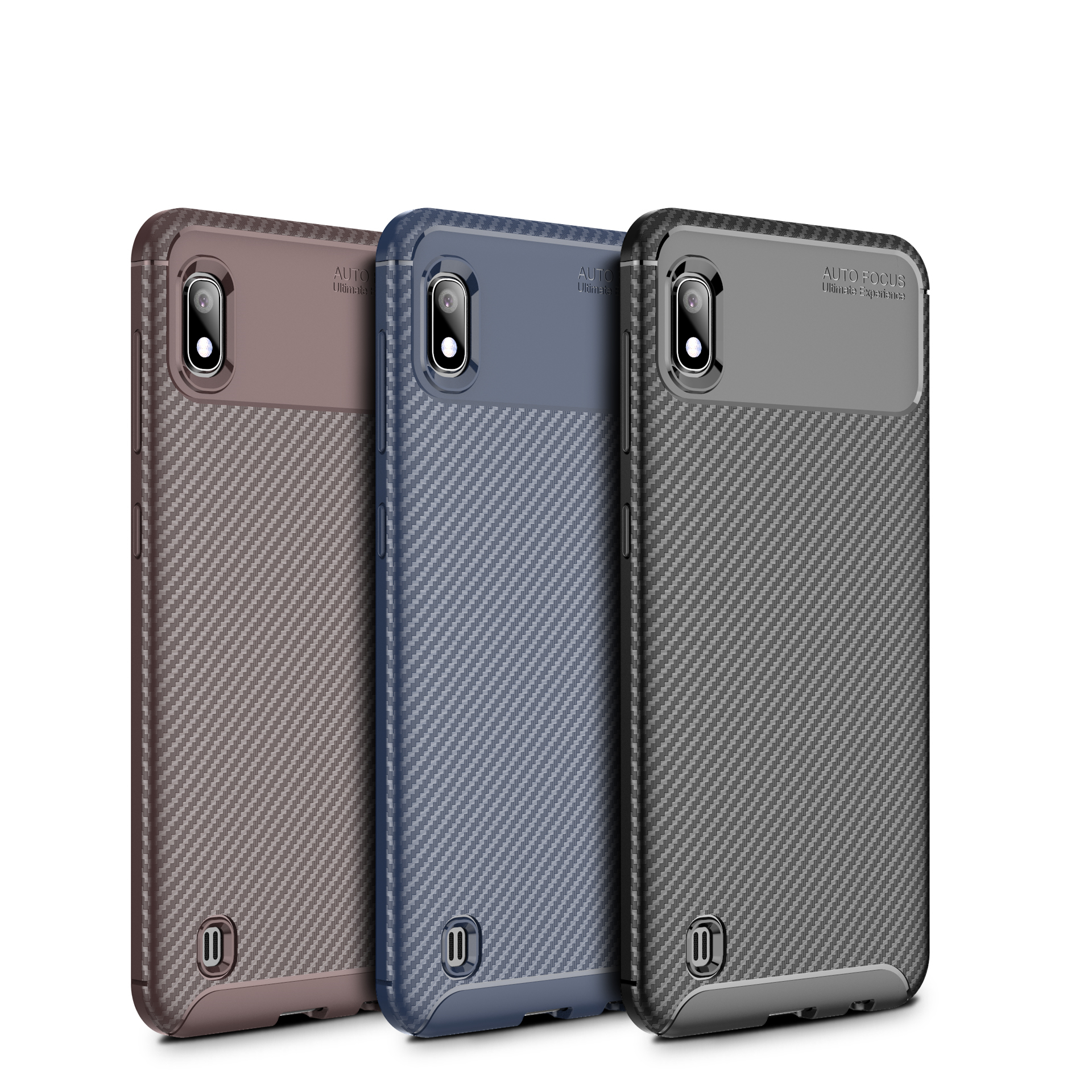 DOYERS Original Hight Quality Beetle case for Samsung galaxy <strong>A10</strong> cover for Ultrathin Soft TPU Carbon Fiber Phone Cover <strong>A10</strong>