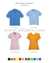 Plain T-Shirt & Polo shirt