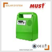 China MUST 10W mini portable solar energy system for Household appliance