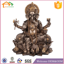 Factory Custom made home decoration polyresin indian gift god statue