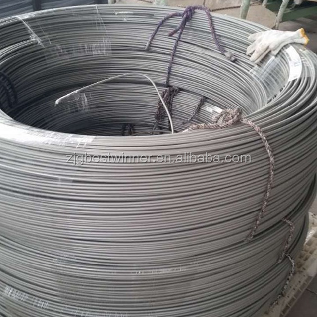 PVF coated double wall steel pipe bundy pipe for brake pipe line of automobile