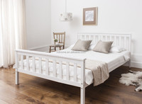 pine wood double size bed cheap price best quality