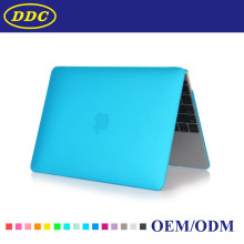 Water Blue Color Clear Crystal Case for Macbook Pro 13 with Touch Bar