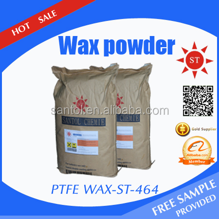 Best selling chemicals used in paints Santol teflon/PTFE wax powder shipping from China with free samples provided