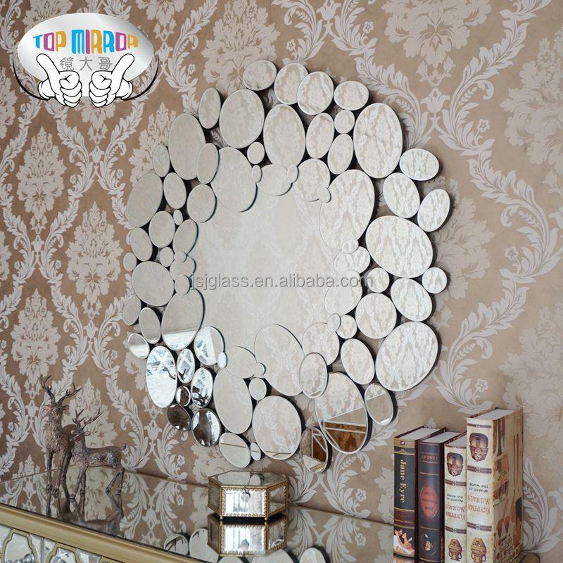 Groothandel moderne ontwerp ronde decoratieve muur spiegel spiegels product id 60386145288 dutch - Decoratieve spiegel plakken ...