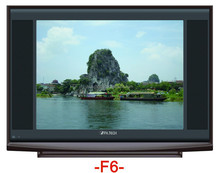 New model 21inch normal flat ultra slim crt color tv