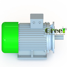 200KW 1500RPM free energy 3 phase ac permanent magnet generator, magnetic motor, high efficiency alternator
