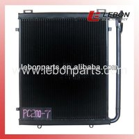 China manufacturer hydraulic fan oil cooler PC200-7 for engine 6D102