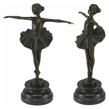 Hot sale bronze indian dancing girl figurines lying lady statues sculptures