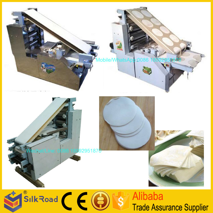 High Efficient roast duck wrapper skin making machine