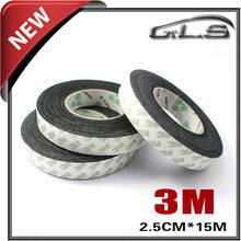 Self-adhesive 3m Glue Car Squeegee Felt Fabric 2.5cmx15m