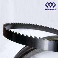 Sawmill power tool band saw blade for cutting wood