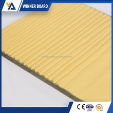 Lightweight Exterior Fiber Cement Wall Board Faux Wood Siding