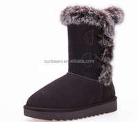 Fashion high quality knee high snow boots