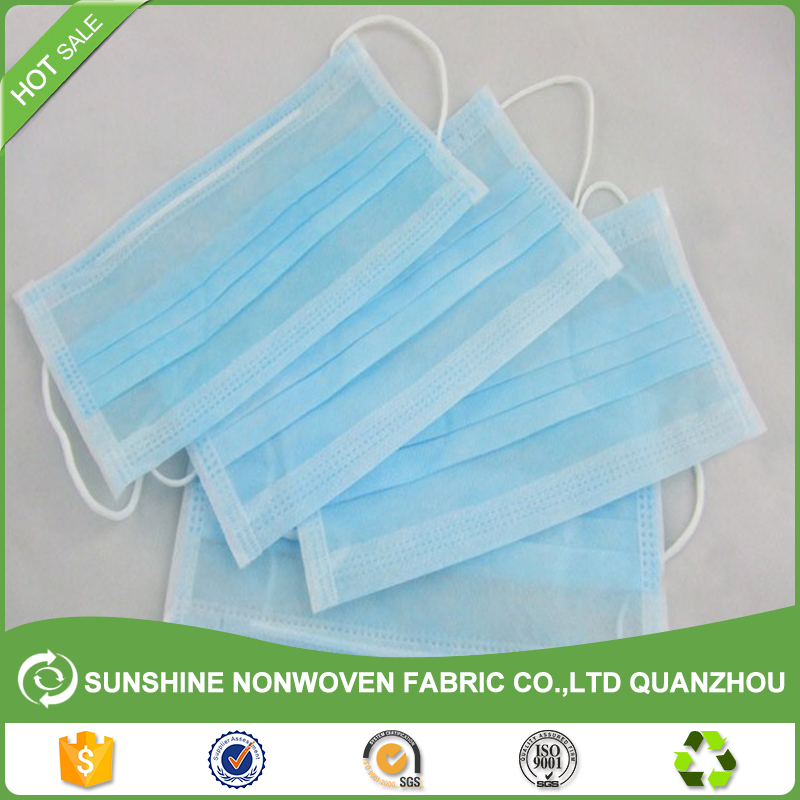 Low price Non-Woven Cloth Supplier Disposable Medical Nonwoven Fabric For Face Mask Nonwoven from China