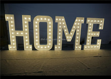 High brightness metal 4ft marquee letters love free standing