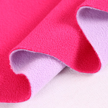 Cotton 75D144F Polar fleece one side brush one side antipilling <strong>120</strong>~125grams 155cm width outdoor clothing fabric