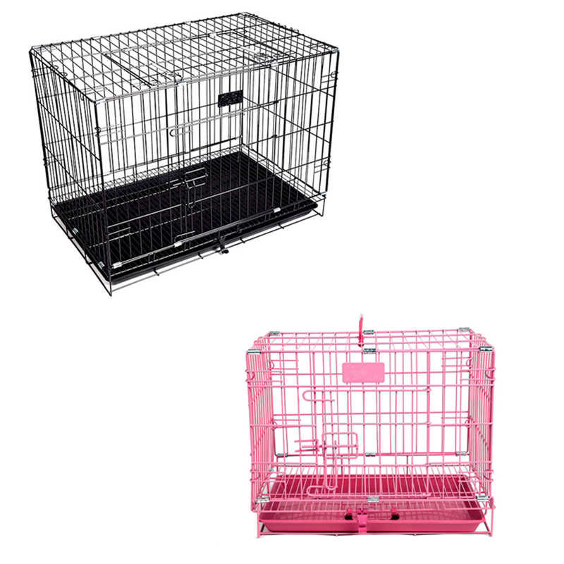 Very Good Folding Metal Material Pet Cages Dog Kennels Pet Crate