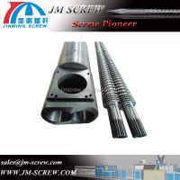 plastic twin screw extruder parts