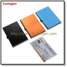 New design high-end hot sale metal name card holder or business card holder