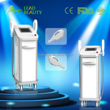 Combined with In-motion technology professional ipl rf hair remove machine