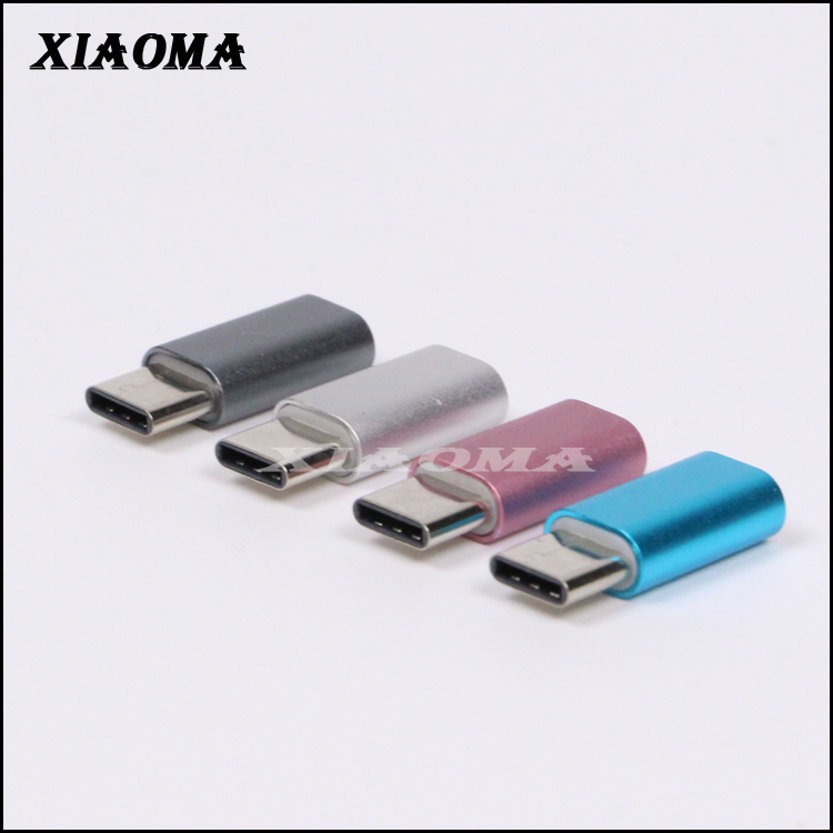 USB 3.1 Type C to Micro USB 2.0 female OTG Adapter