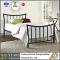Modern Wrought iron pipe bed
