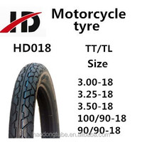 Motorcycle tubeless tyre 100/90-18 for sale