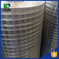 Alibaba China supplier 25mm holes 1mm galvanized wire 1m * 25m rolls PVC coated Welded Wire Mesh