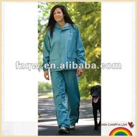 Women industrial PVC polyester uniform