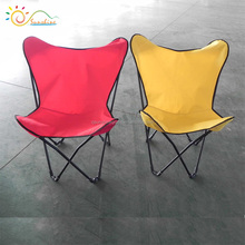 Promotional camping lightweight butterfly reclining chair