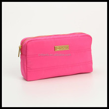 Micro fiber cosmetic bag fashion travel toiletry promotional makeup bag