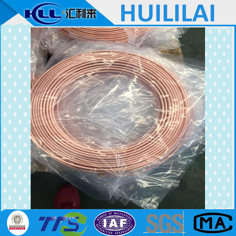 ASTM B68 C12000 O50 air conditioner copper pipe size