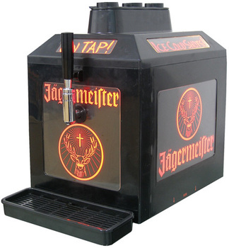 wine 3 bottle cold liquor dispenser chiller tap machine