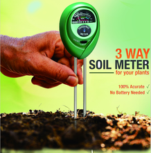 3 In 1 Functions Electric PH Soil Tester Soil Moisture Meter